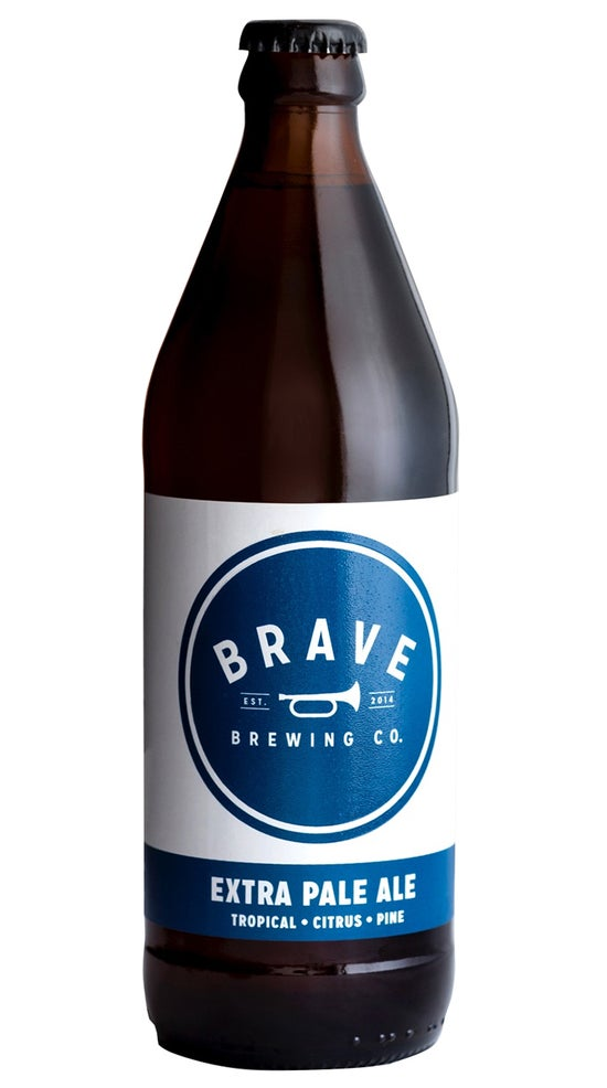 Brave Brewing Bottle Rocket Extra Pale Ale