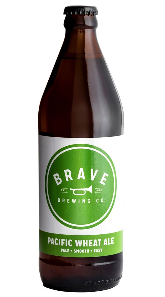 Brave Brewing Stay Gold - Pacific Wheat