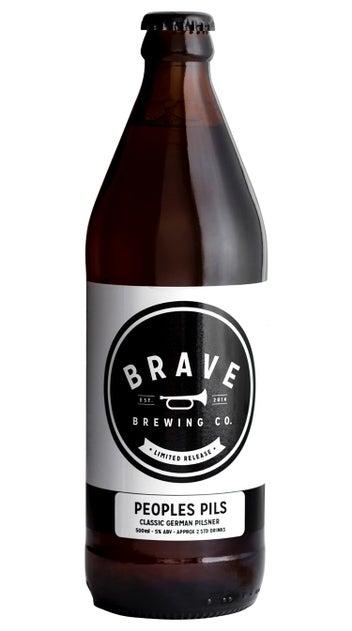 Brave Brewing Peoples Pils
