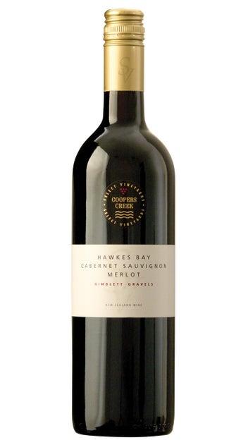 2015 Coopers Creek Select Vineyard Cabernet Merlot 'Gimblett Gravels'