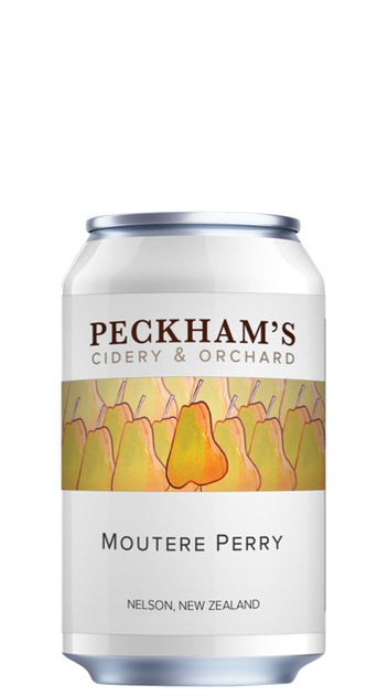 Peckham's Moutere Perry 330ml can