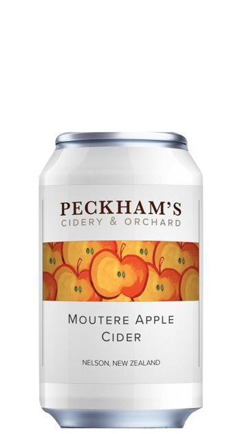Peckham's Moutere Apple Cider 330ml can