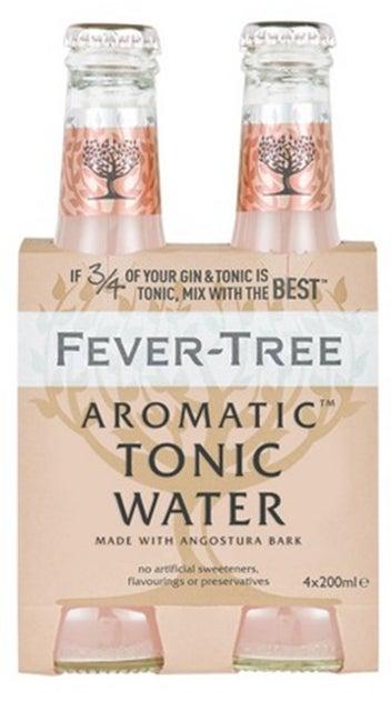 Fever-Tree Premium Aromatic Tonic Water 4pk