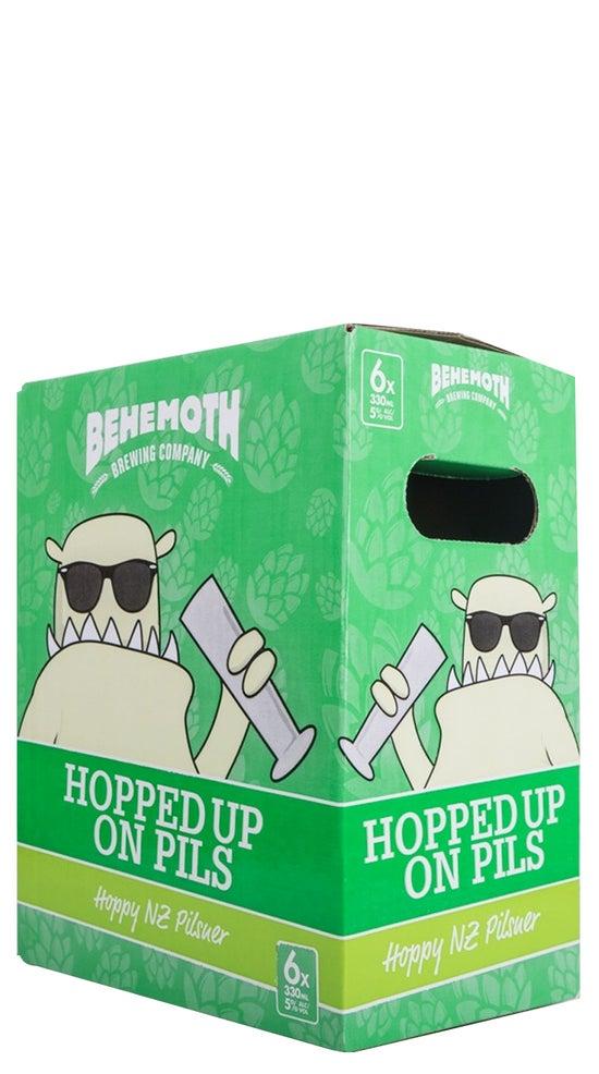 Behemoth Hopped up on Pils 6pk 330ml bottles