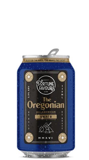 Fortune Favours The Oregonian Amber Ale