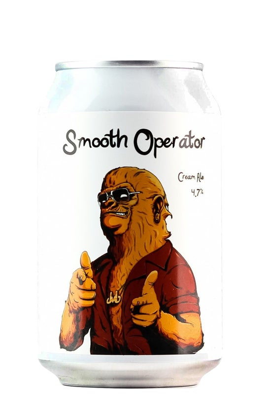 Double Vision Smooth Operator Cream Ale 330ml can