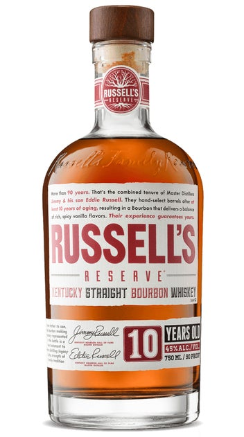 Russell's Reserve 10 Yr Old Kentucky straight Bourbon
