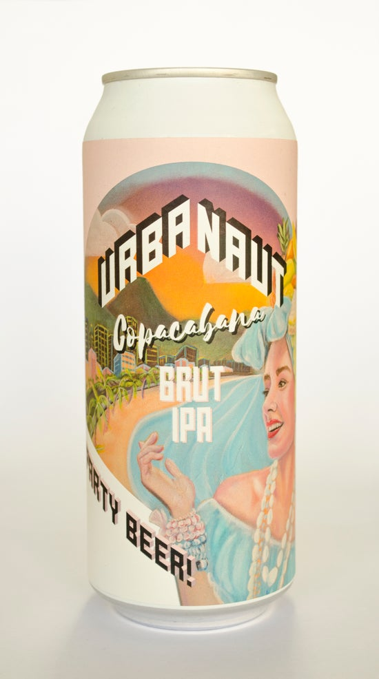 Urbanaut Copacabana Brut IPA 440ml can
