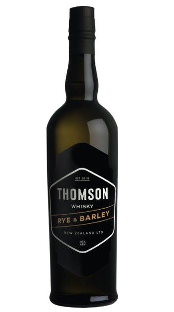 Thomson Rye and Barley Whisky 700ml