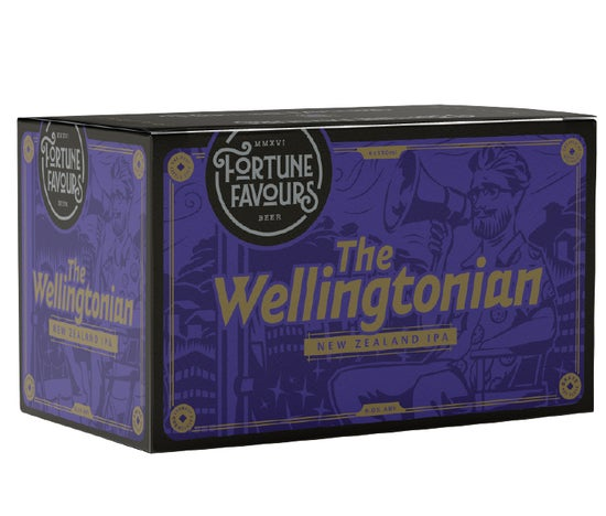 Fortune Favours The Wellingtonian IPA 6pack