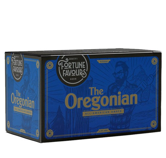 Fortune Favours The Oregonian Amber Ale 6 pack