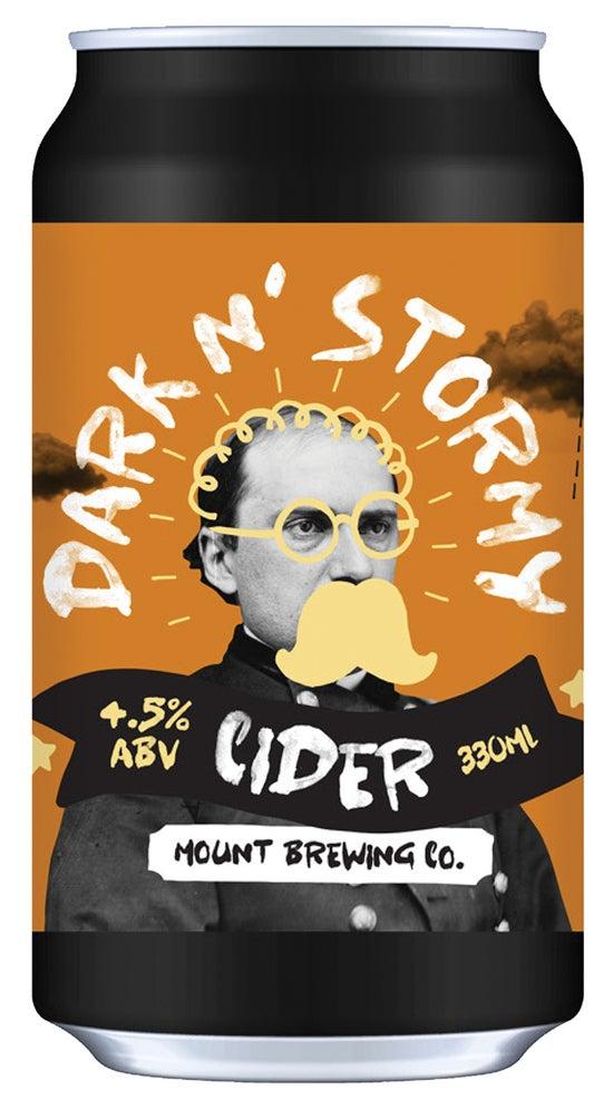 Mount Brewing Dark n Stormy Cider