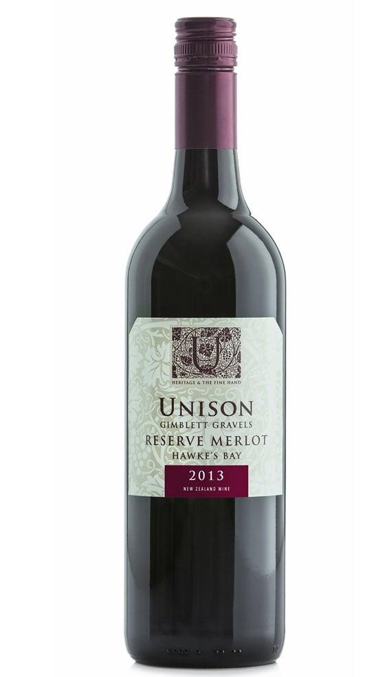 Unison Vineyard Reserve Merlot