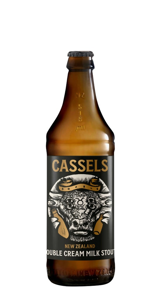 Cassels & Sons Double Cream Milk Stout 518ml bottle