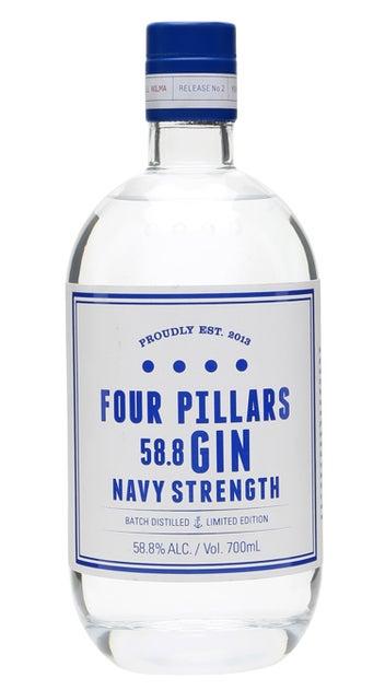 Four Pillars Navy Strength Gin 700ml bottle