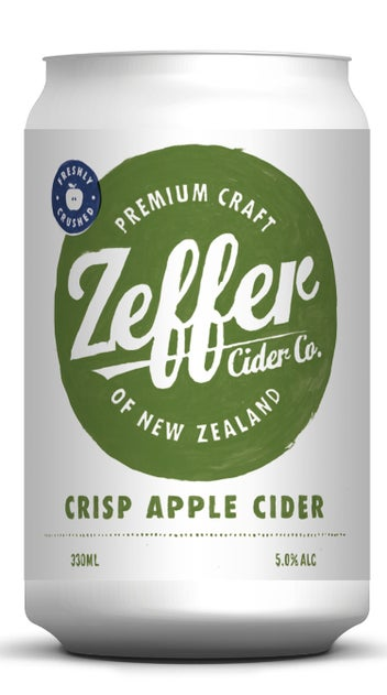 Zeffer Crisp Apple Cider Cans