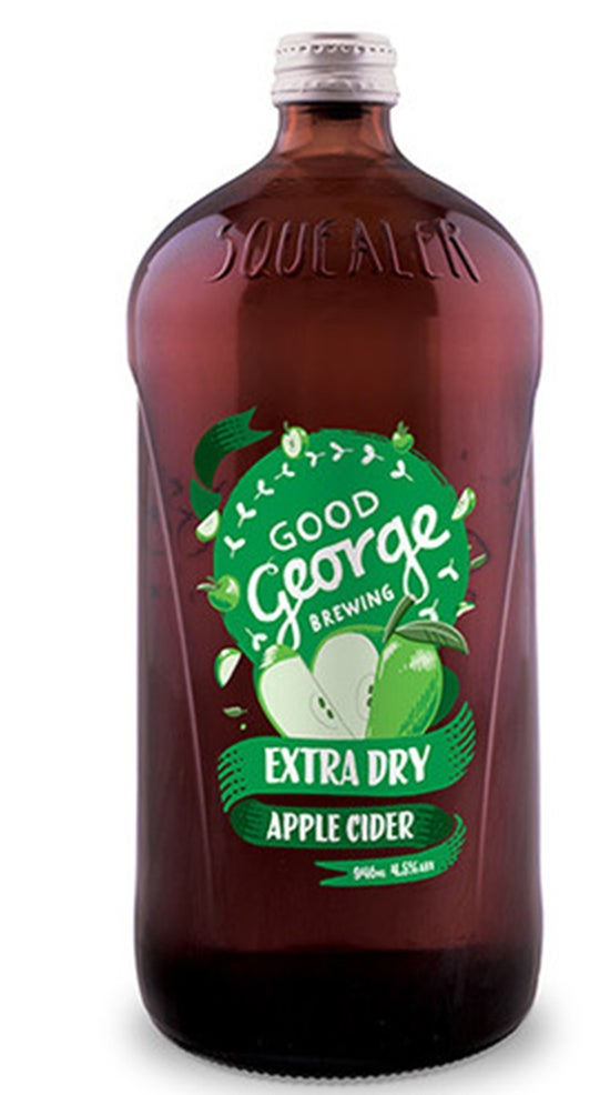 Good George Extra Dry Apple Cider Squealer 946ml