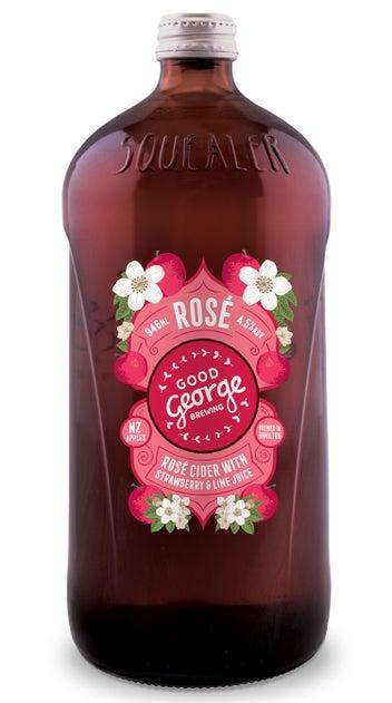 Good George Rose Cider Squealer