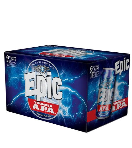 Epic Thunder APA 6pk 330ml cans