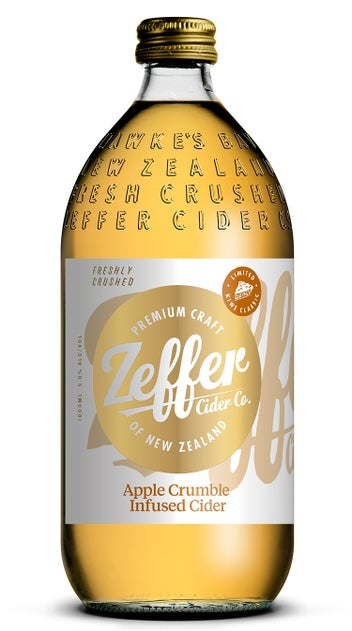 Zeffer Apple Crumble Infused 1L Flagons