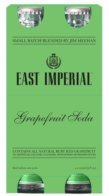 East Imperial Grapefruit Soda 4pk
