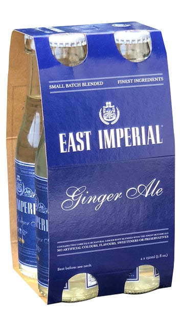 East Imperial Thai Dry Ginger Ale 4pk