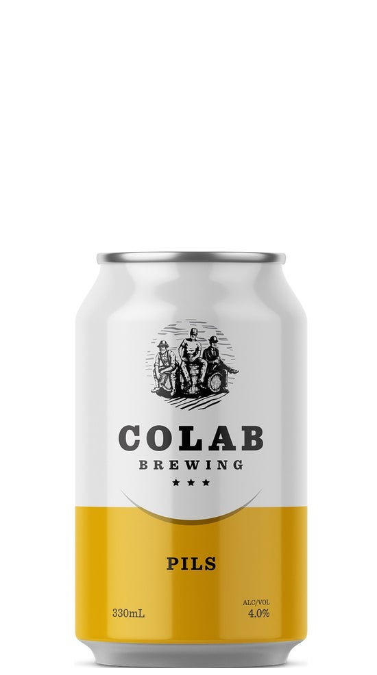 Colab Brewing Pils 330ml can
