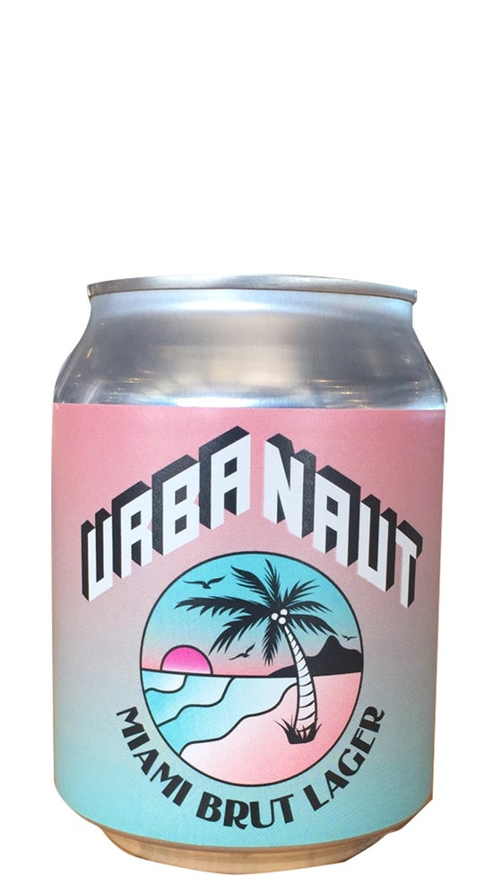 Urbanaut Miami Brut Lager 250ml can