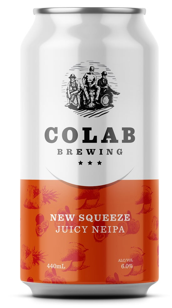 Colab Brewing New Squeeze Juicy IPA 440ml can