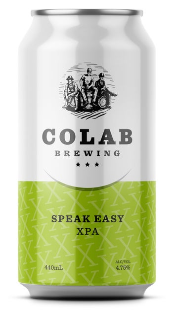 Colab Brewing 'Speak Easy' XPA 440ml can