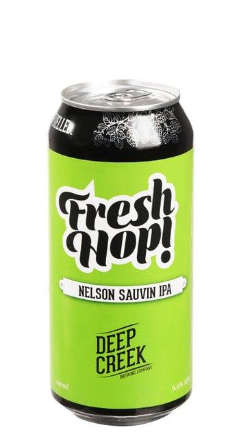 Deep Creek Fresh Hop Nelson Sauvin IPA 440ml