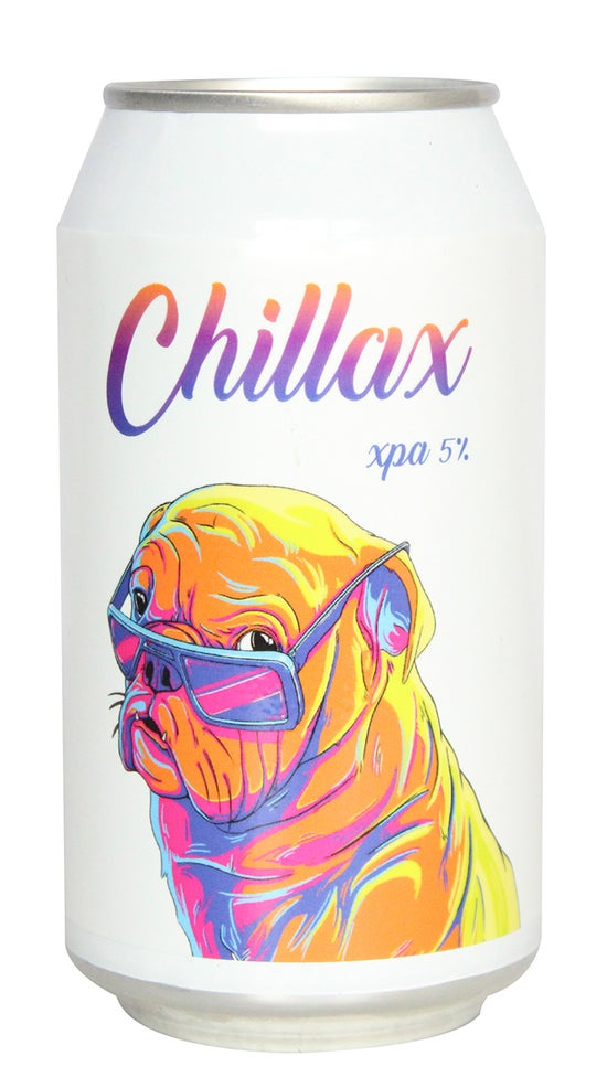 Double Vision Brewery Chillax XPA 330ml can
