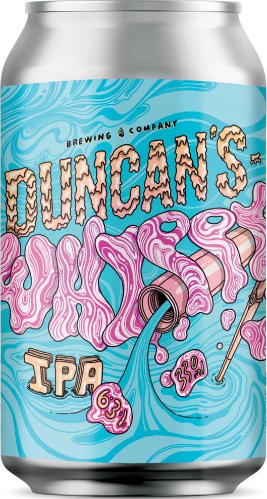 Duncans Whippy Milkshake IPA 330ml can