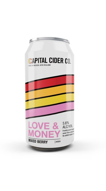 Capital Cider Co. Love & Money Mixed Beery Cider 440ml can