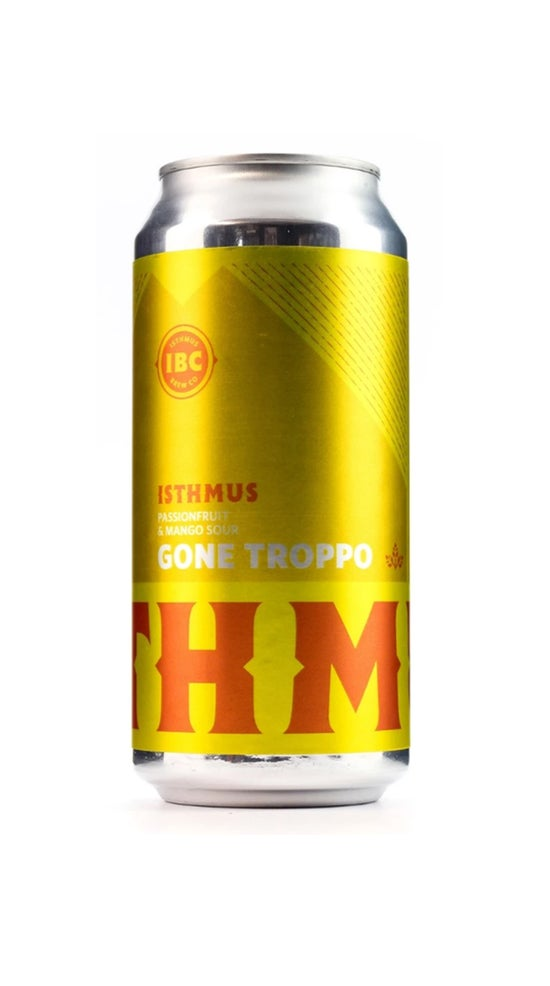 Isthmus Brewing Gone Troppo Passion Fruit & Mango Sour Ale 440ml