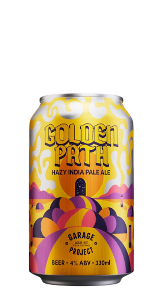 Garage Project Golden Path Hazy Session IPA 330ml can