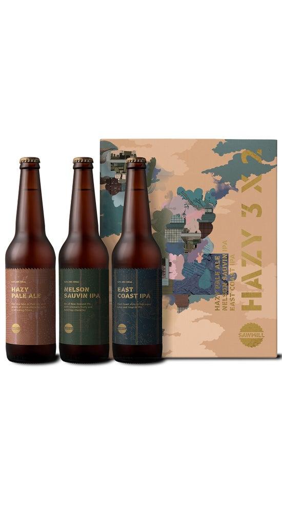 Sawmill Hazy Three by Two 6pk 330ml bottles
