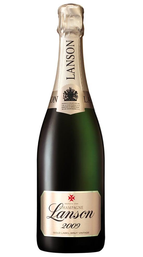 Champagne Lanson Gold Label