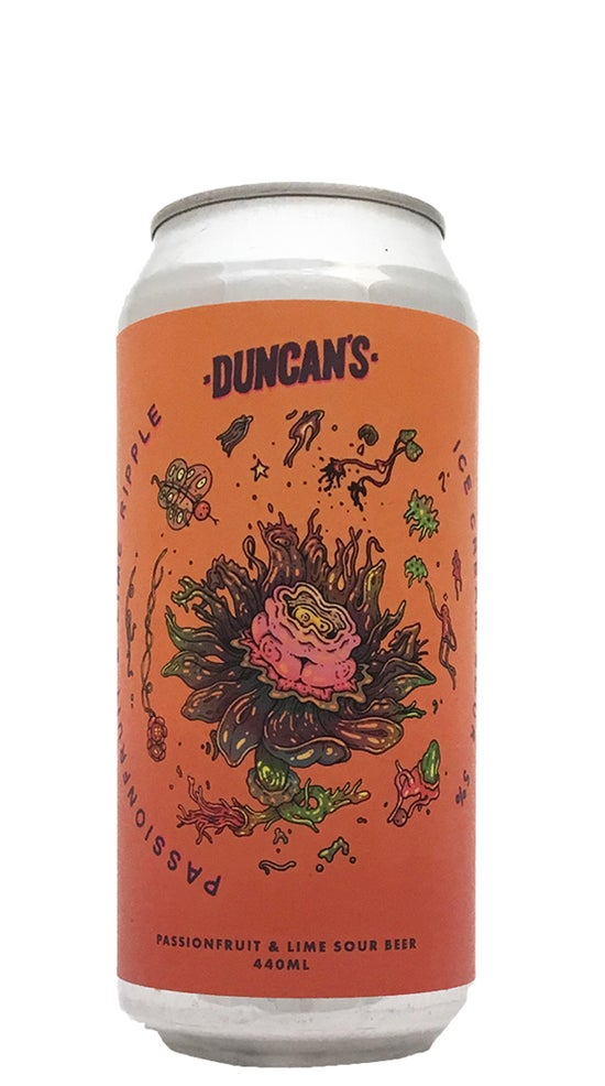 Duncans Passionfruit & Lime Ripple Icecream Sour 440ml can