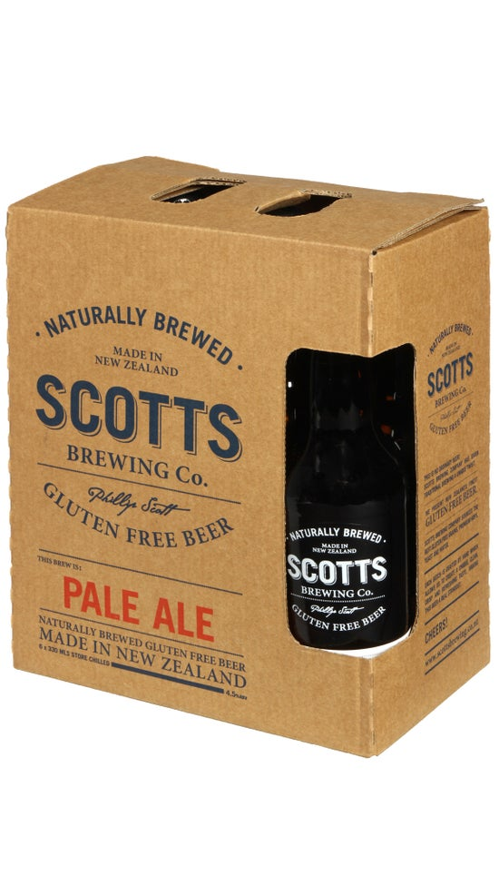 Scotts Brewing Gluten Free Pale Ale 6 pack