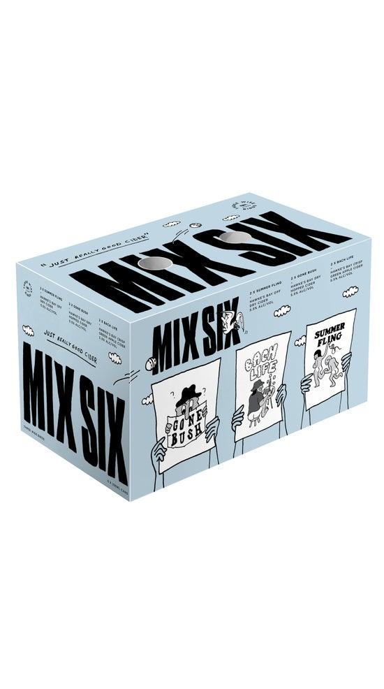 Three Wise Birds Original Mix 6 Pack