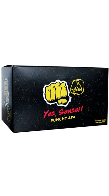 8 Wired Yes Sensei! Punchy APA 6 pack