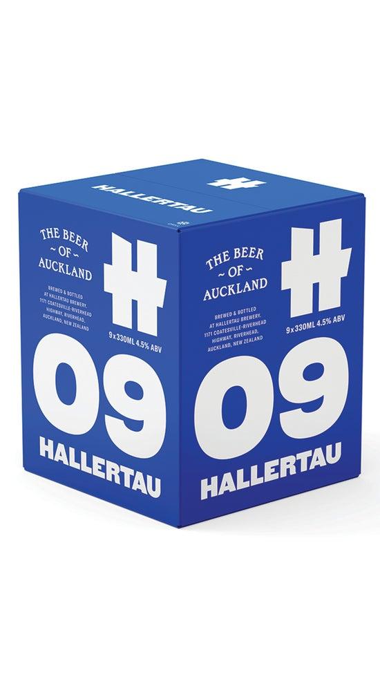 Hallertau 09 Beer of Auckland 9pack