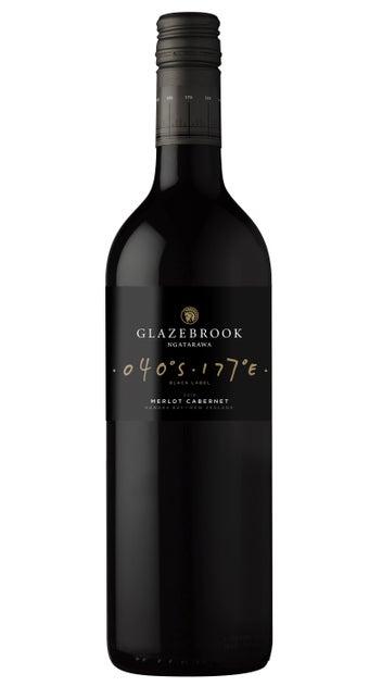 2018 Glazebrook Black Label Hawke's Bay Merlot Cabernet