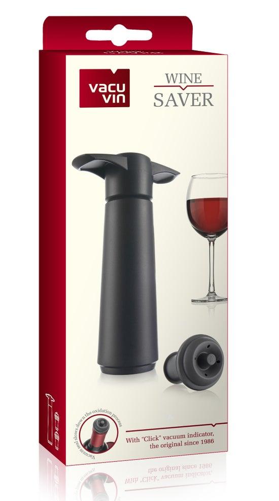 Vacu Vin Wine Saver Black Gift Pack