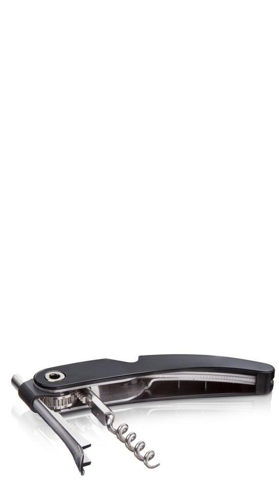 Vacu Vin Single Pull Corkscrew Black