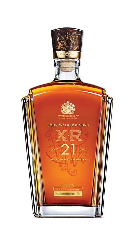 John Walker & Sons XR 21 Year Old Premium Blended Scotch Whisky.