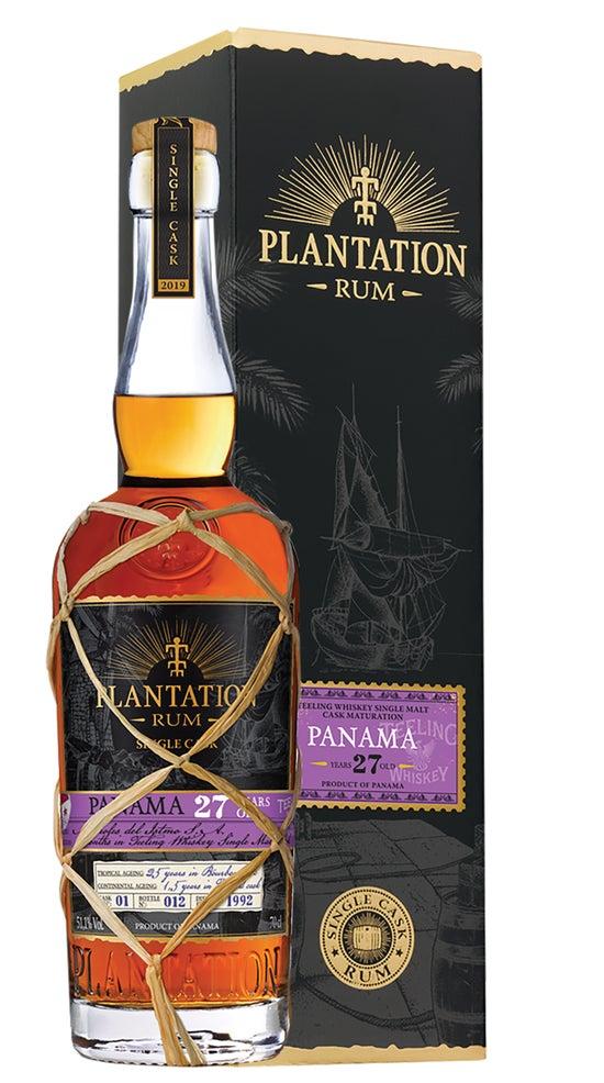 Plantation Ltd Edition, Single Barrel Release, 27 Year Old Panama Rum, Ex-Teelings