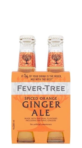 Fever-Tree Premium Spiced Orange Ginger Ale 4pk