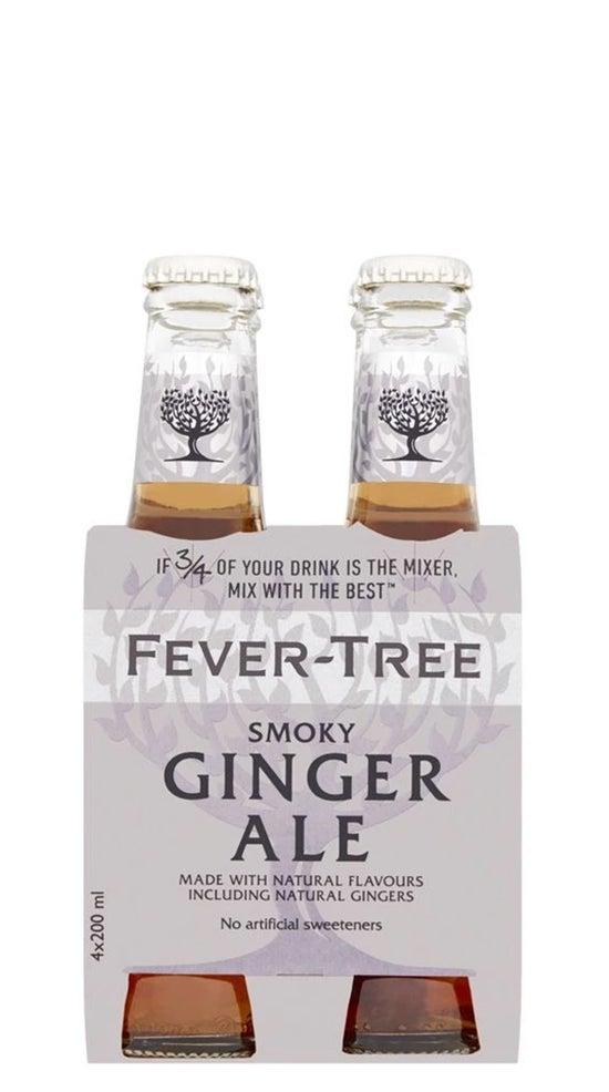 Fever-Tree Premium Smoky Ginger Ale 4pk